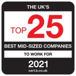 15th best mid-sized company to work for 2021